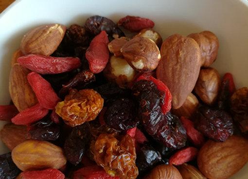 Mélange de fruits secs randonneur