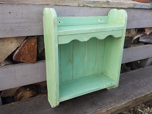 Green Vintage Wall Unit