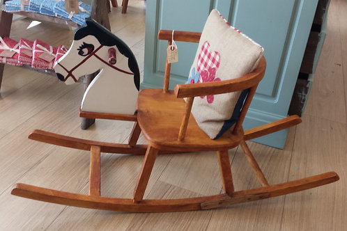 Vintage Horse Children's Rocking Chair