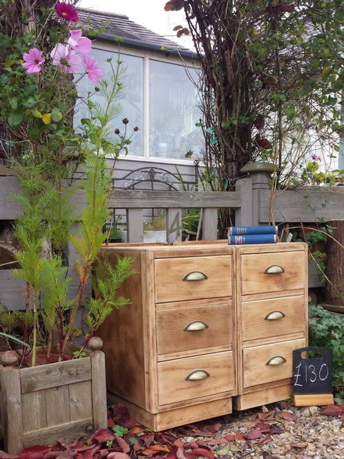Six Drawer Vintage Chest Of drawers