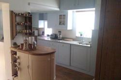 light blue and cream kitchen resized