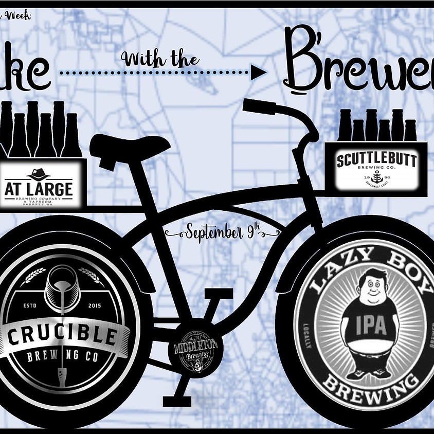 Bike with the Brewers