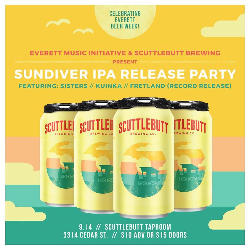 Sundiver IPA Release Party & Summerzover Concert