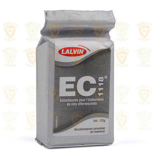Lalvin Dried Wine Yeast - EC 1118 125g