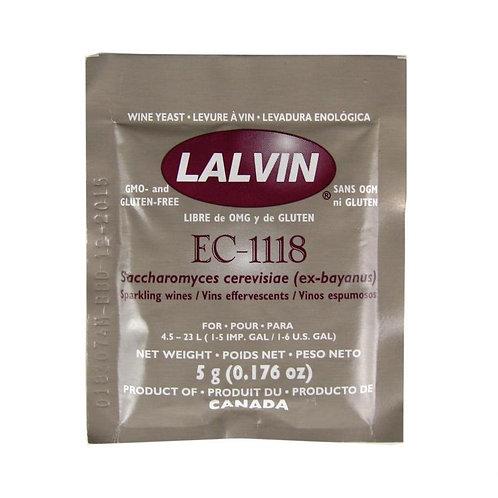 Lalvin Dried Wine Yeast - EC 1118 5g
