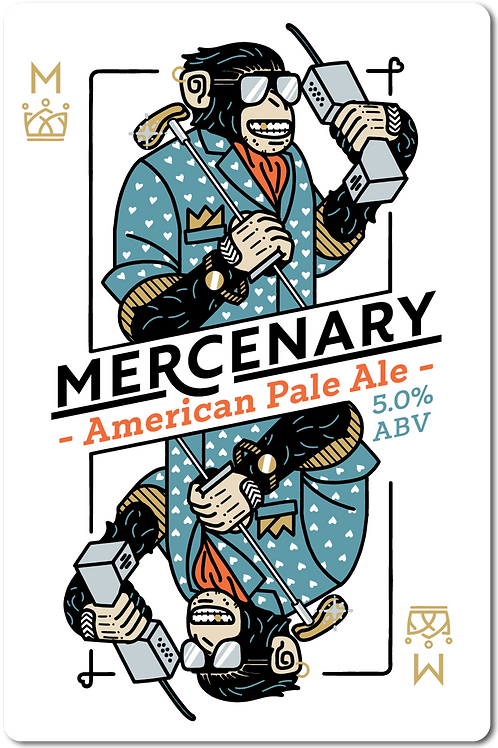 Mercenary American Pale Ale