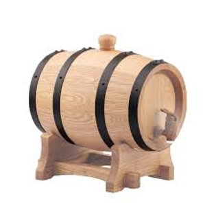 10L American White Oak Barrel