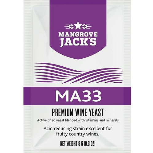 Mangrove Jacks Wine Yeast MA33