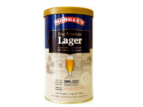 Morgan's Blue Mountain Lager