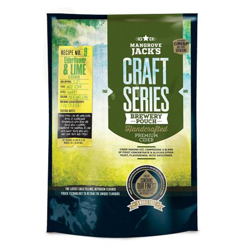 Mangrove Jacks Craft Series Elderflower & Lime Cider
