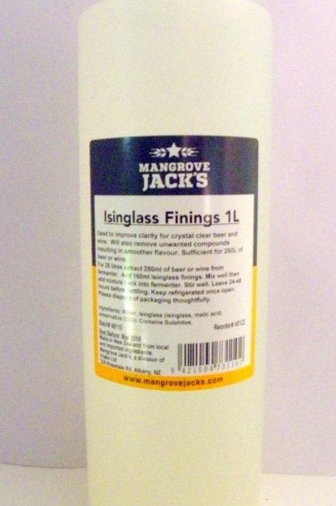 Mangrove Jacks 1L Isinglass Finings