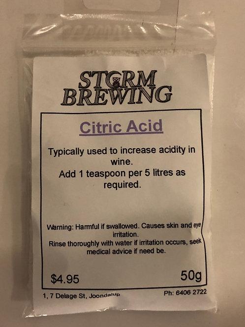 Citric Acid 50g
