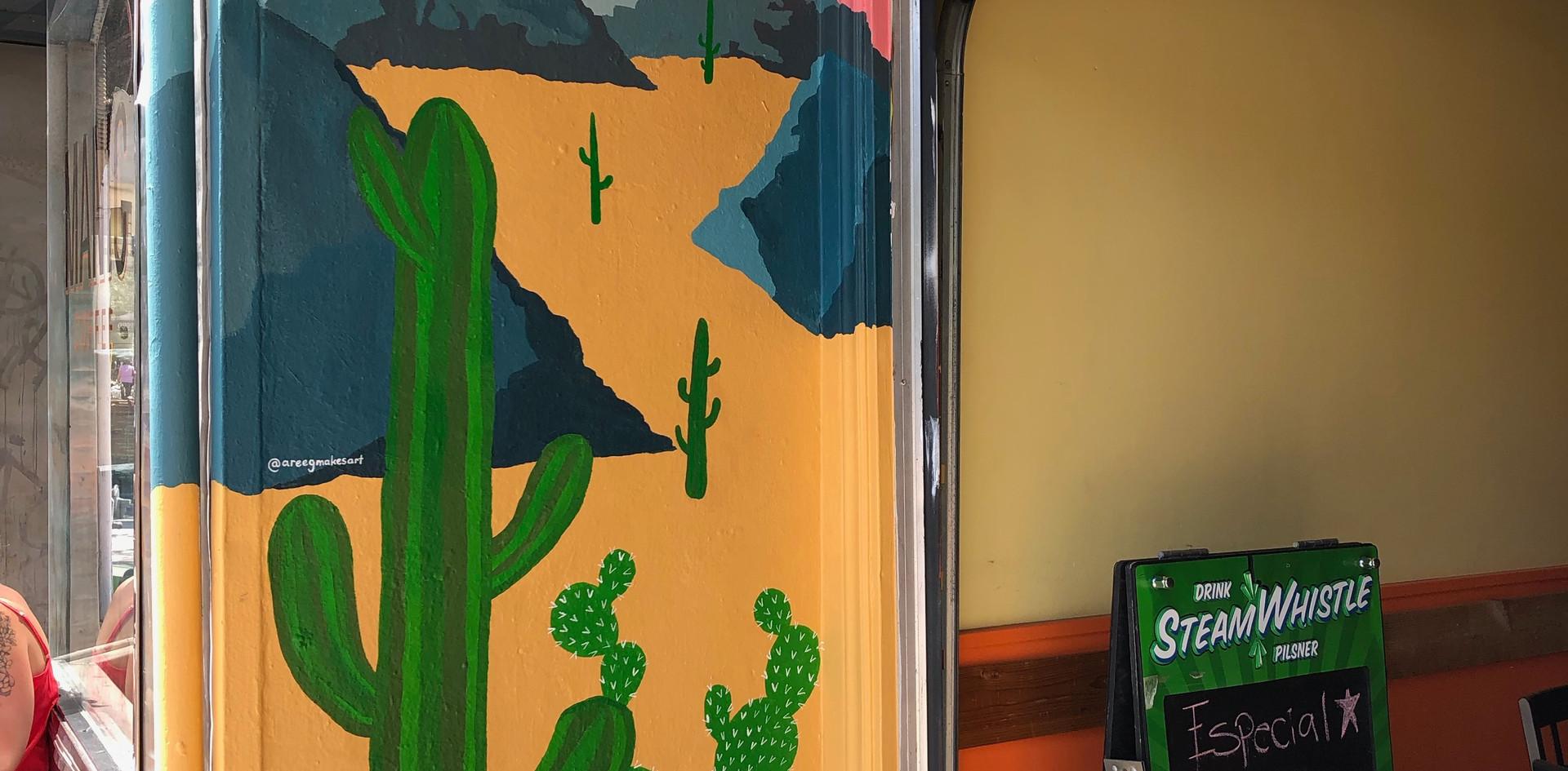 Hacienda Las Americas With Mural