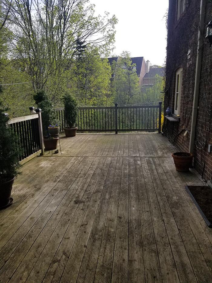Deck & Vinyl Cleaning