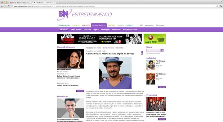 Facebook - Bahia Noticias