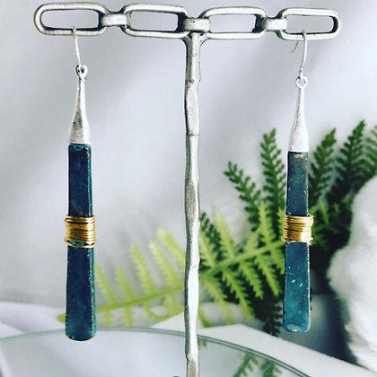 Patina Sticks earrings