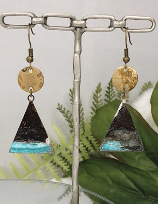 Ocean Moon Rising earrings