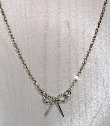 Delicate Bow Pendant