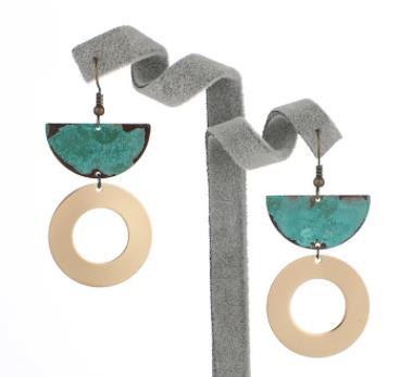 Half Arc Hoop Earrings