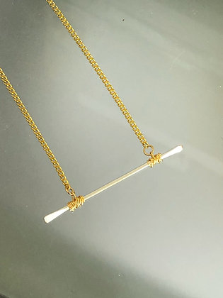 Balanced Bar Necklace