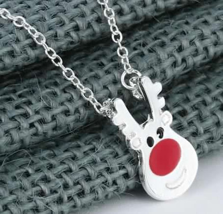 Cute Reindeer Necklace