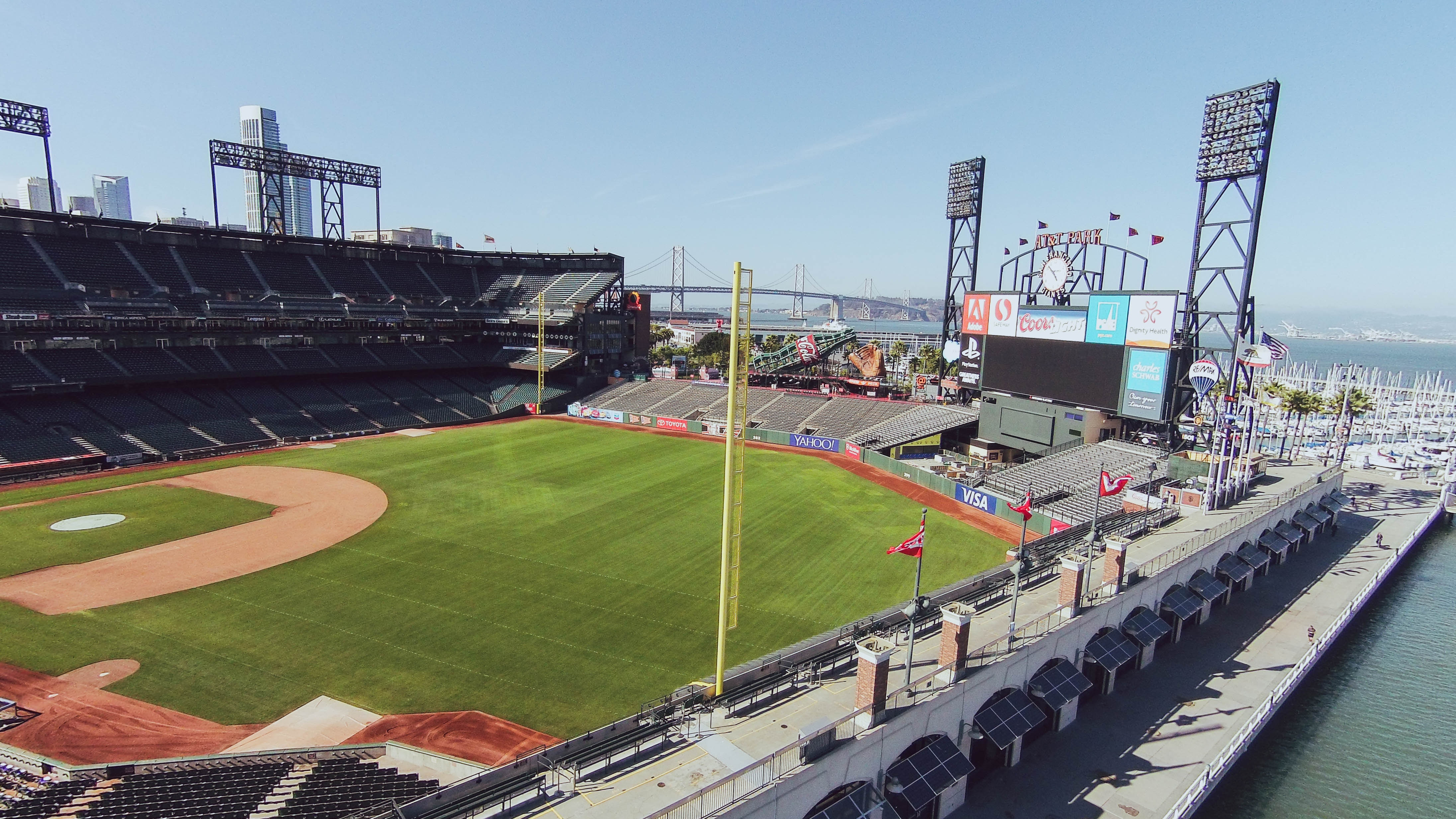 2020 Giant's Game from McCovey Cove