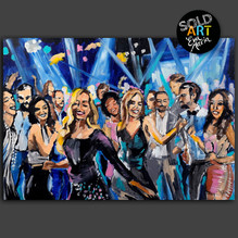 Party Night, SOLD Eva van den Hamsvoort