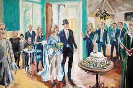 Portret bruiloft