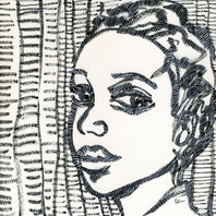 The expression of a woman, SOLD Eva van den Hamsvoort