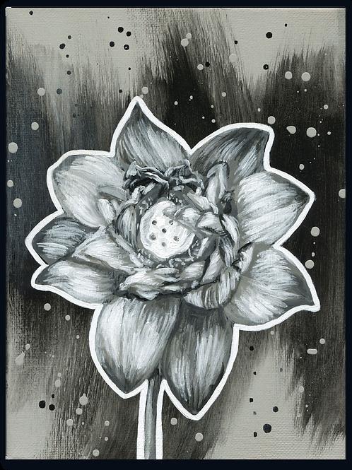 Schilderij Lotus | ArtaFlora | NIGHT & DAY collectie