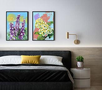 ArtaFlora bloemen schilderijen Freestyle floral art