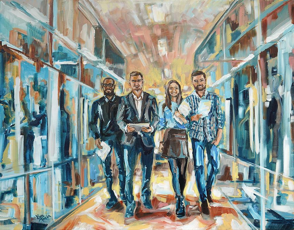 Zakelijk portret door ART Eva Maria / Eva van den Hamsvoort