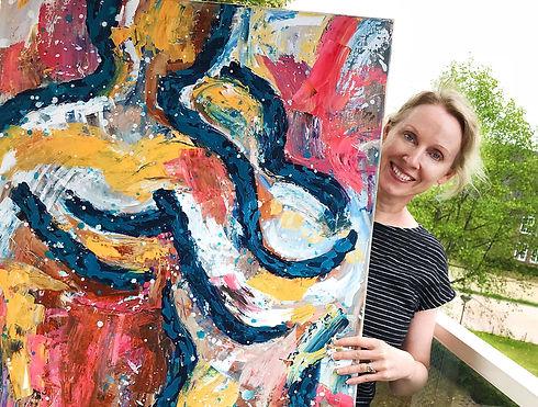 Eva van den Hamsvoort professioneel kunstenaar in Breda
