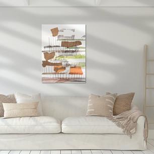 Tuin van vormen Art Print