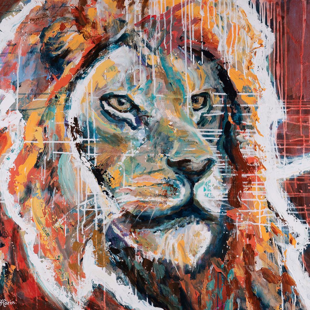 Art Online Gallery Love the Lion