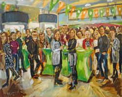 Live Paint Eva Maria jubileum Hoofddorp