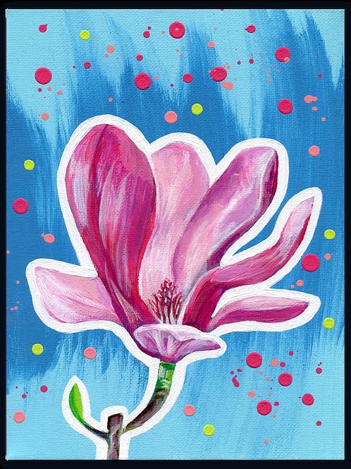 Schilderij Magnolia | ArtaFlora | FLOWER POWER collectie