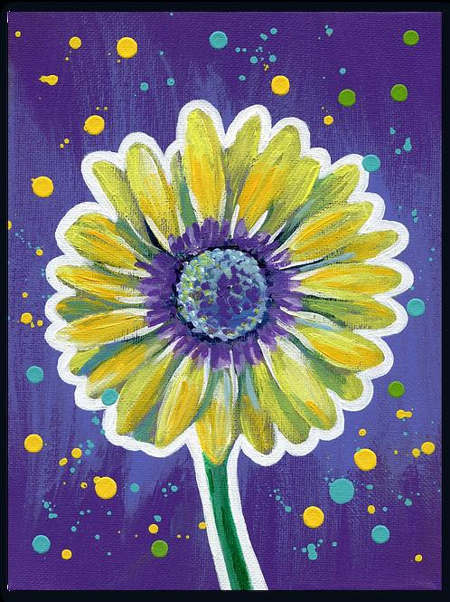 Schilderij Gerbera | ArtaFlora | FLOWER POWER collectie