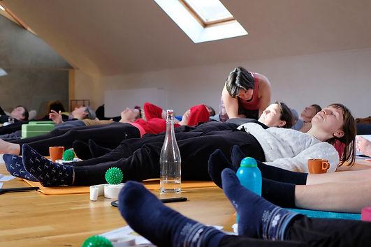 Thessa Thijs yoga lessen en kaakyoga