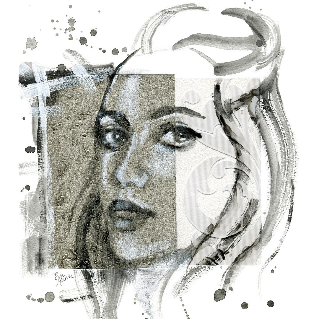 ART Eva Maria prints Look at me