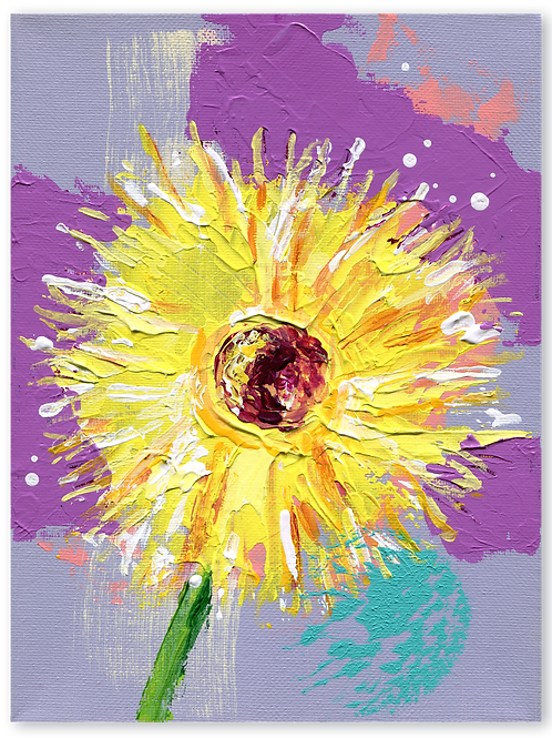 Spider - Gerbera - geel - Gerbera - Spider - Chiquita - yellow - trend - bloem - cadeau