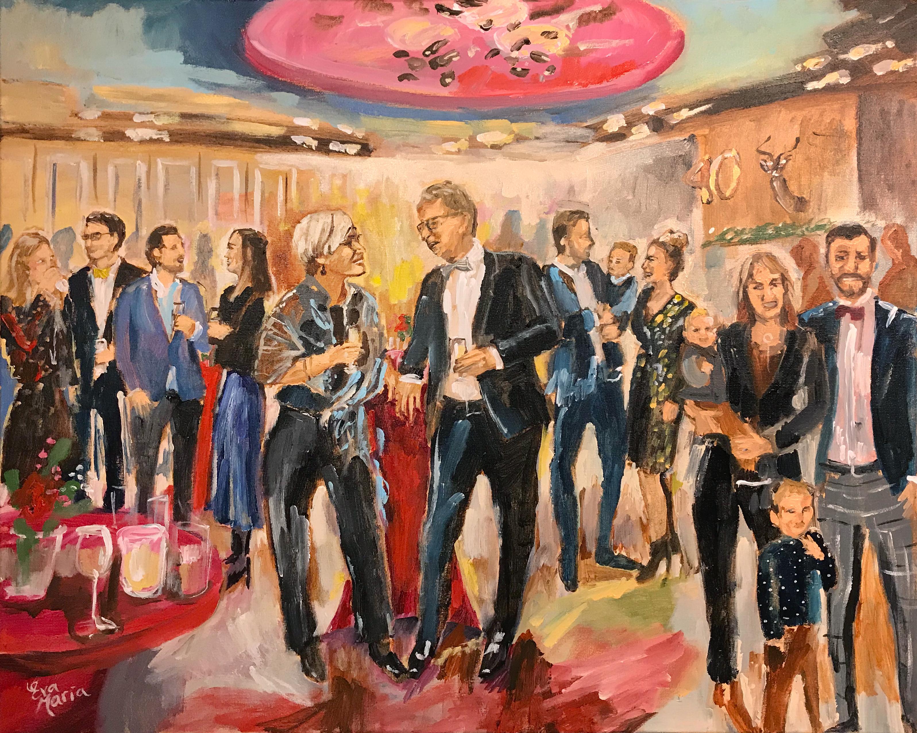 Live Paint Eva Maria Vorden