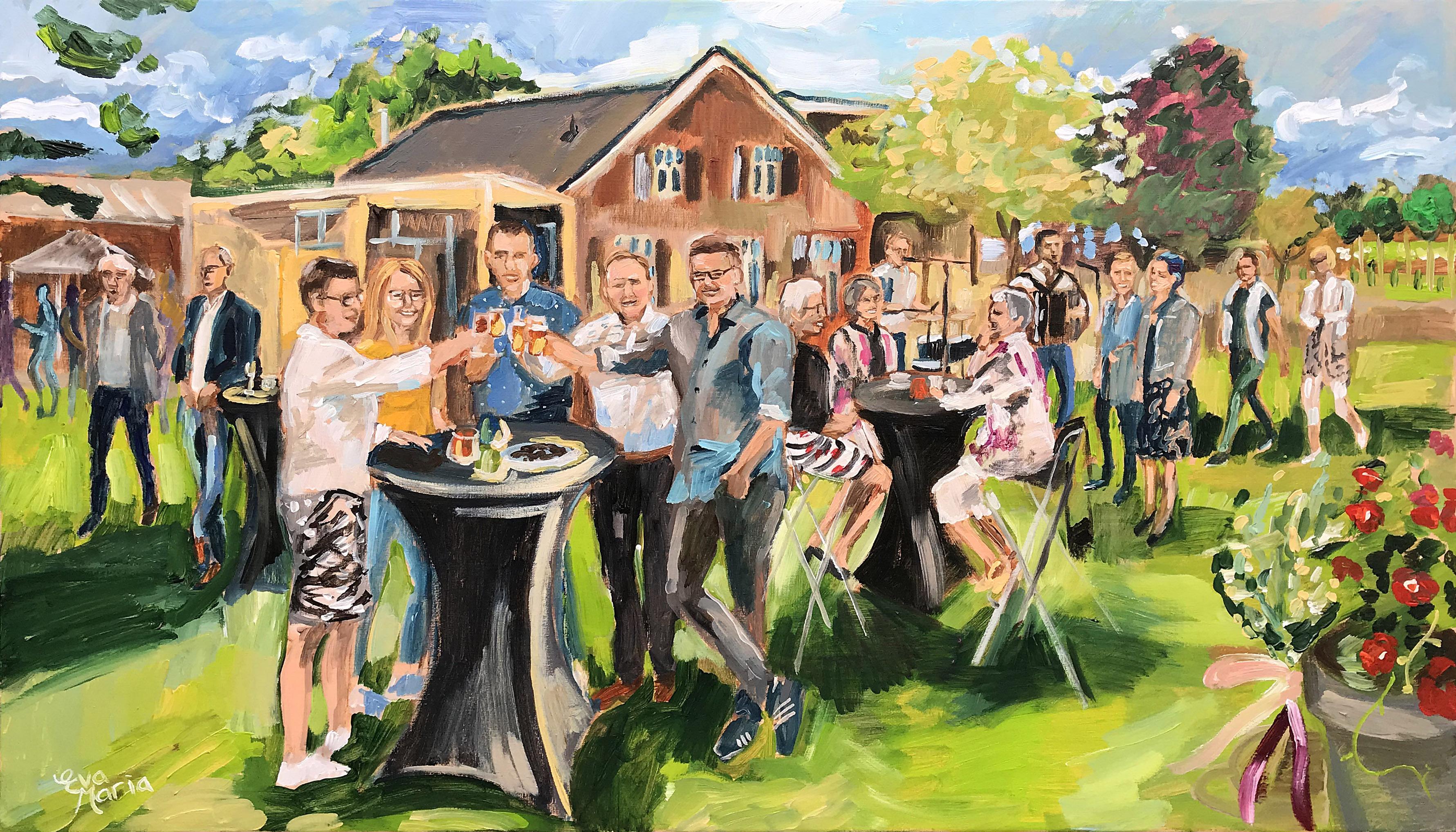 Live Paint Eva Maria Sevenum