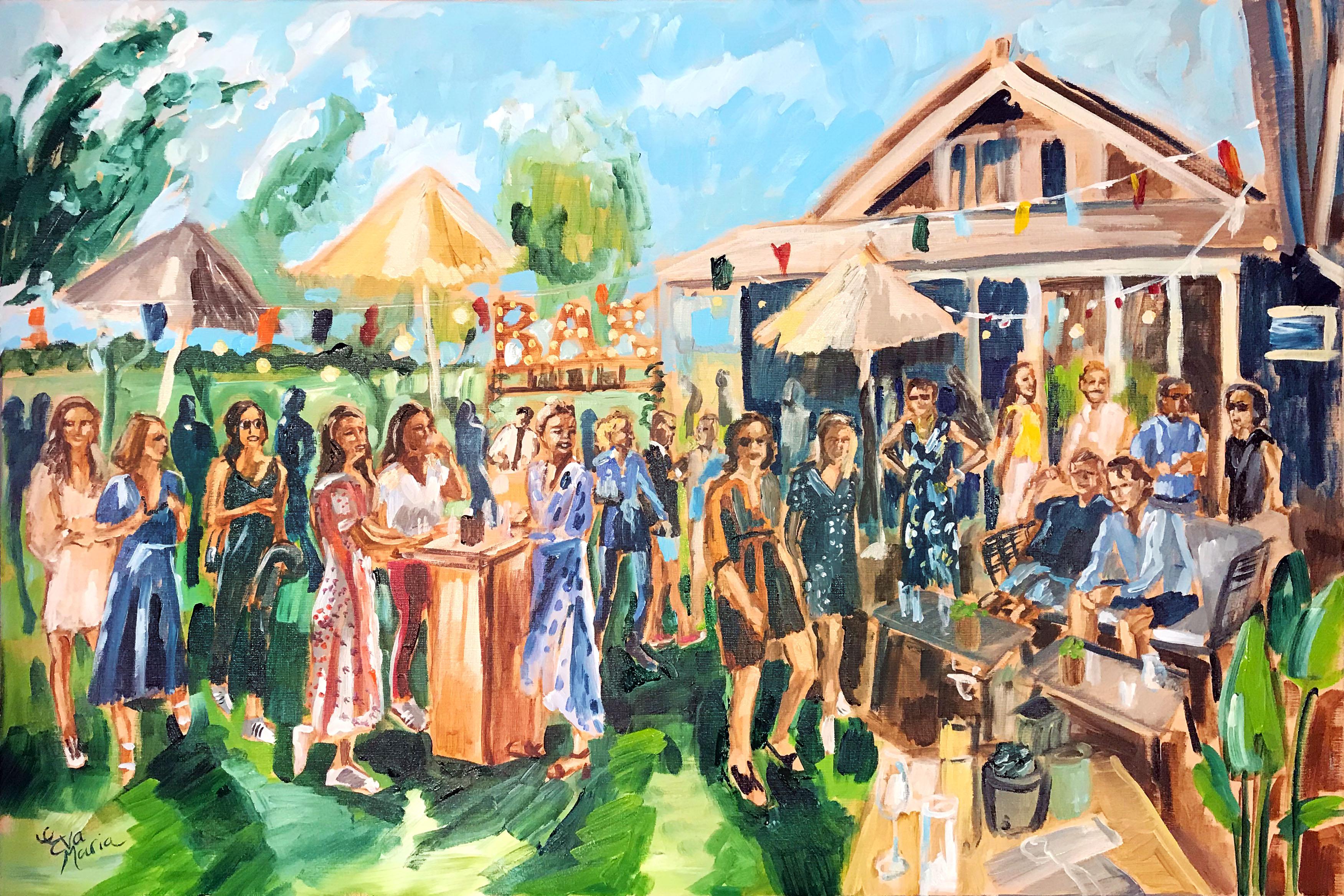 Live Paint Eva Maria Hazerswoude-Dorp