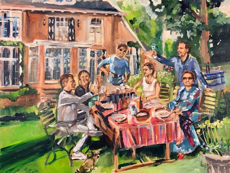 Covid-19 en Live Event Painting