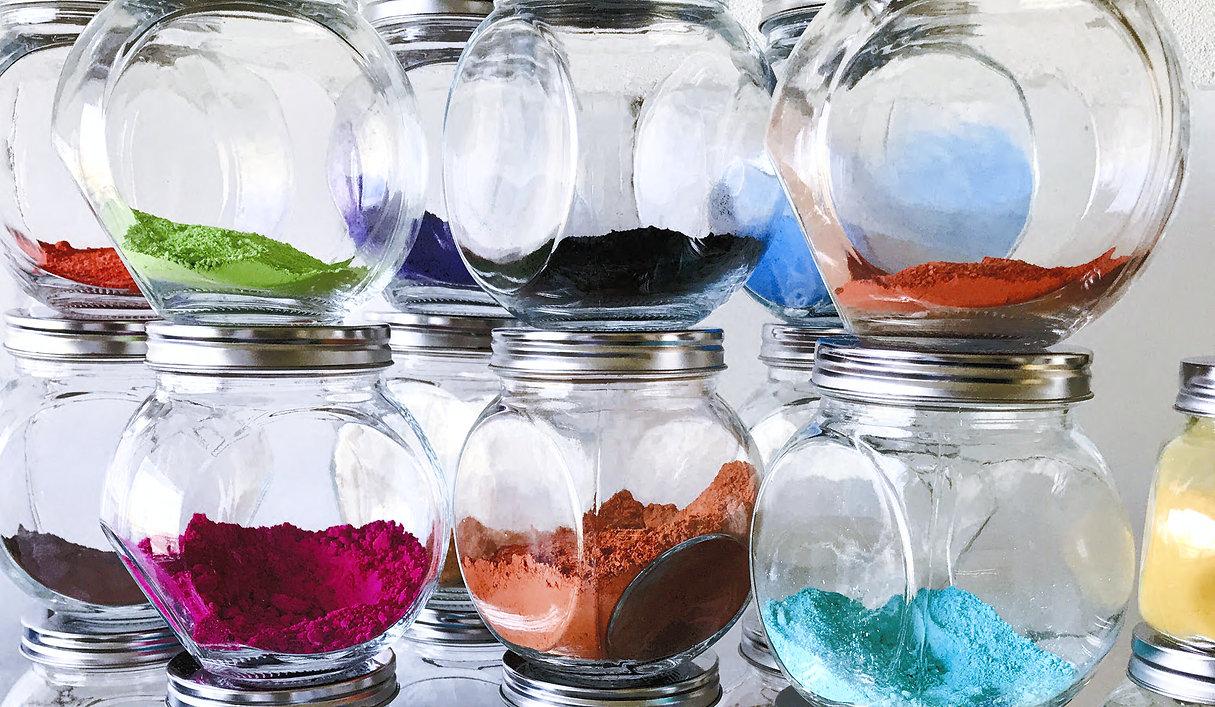 Visual pigmenten Sustainable Art Paintin