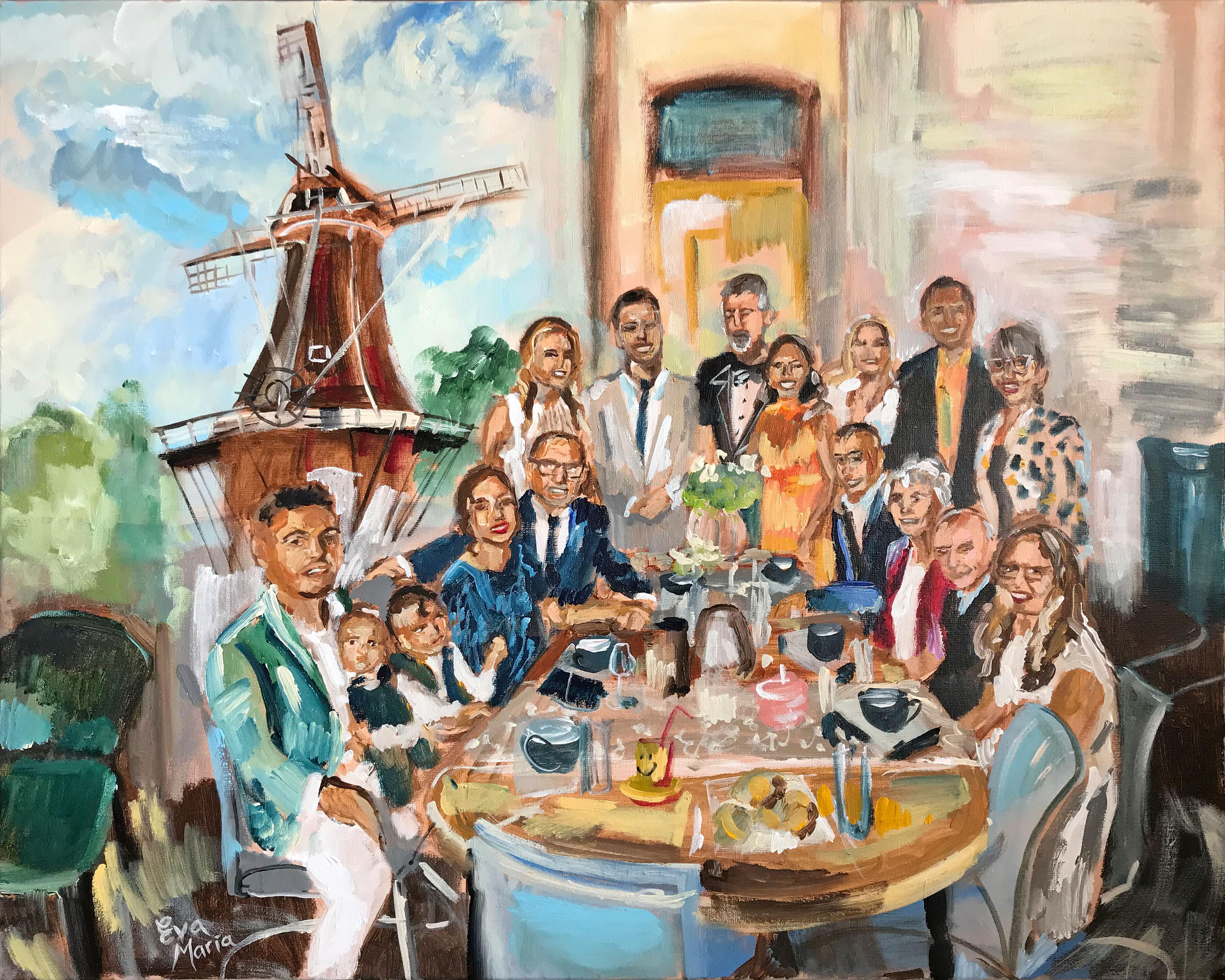 Live Paint Eva Maria Wijhe