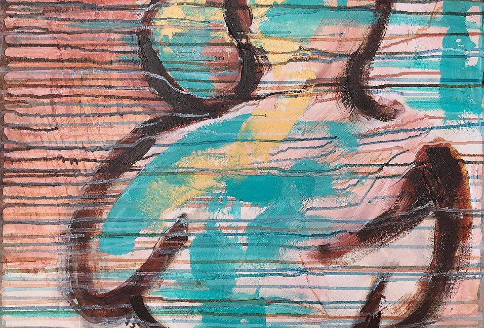 Schilderij Open hearts door Eva van den Hamsvoort