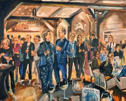 Live Paint Eva Maria Amstelveen