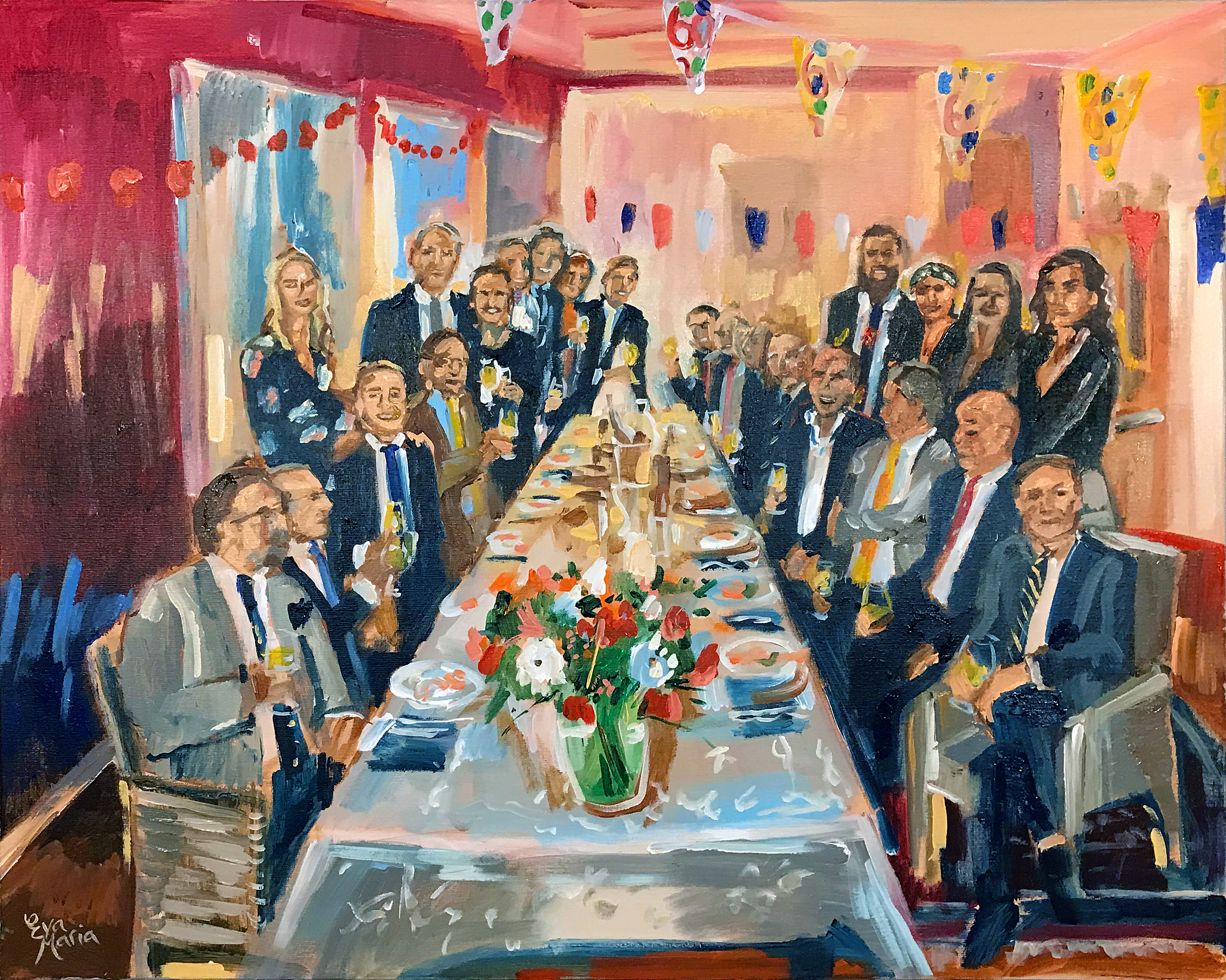 Live Paint Eva Maria Haarlem